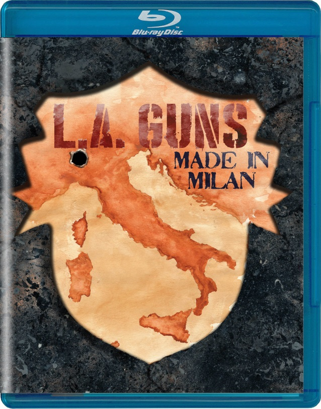 L.A. GUNS To Release 'Made In Milan' CD, DVD And Blu-Ray In March